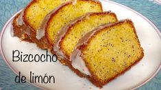 ¡Bizcocho de limón y semillas de amapola! Perfecto para la hora del té. Chocolate Box, Cornbread, Banana Bread, French Toast, Breakfast, Ethnic Recipes, Desserts, Food, Cake Recipes