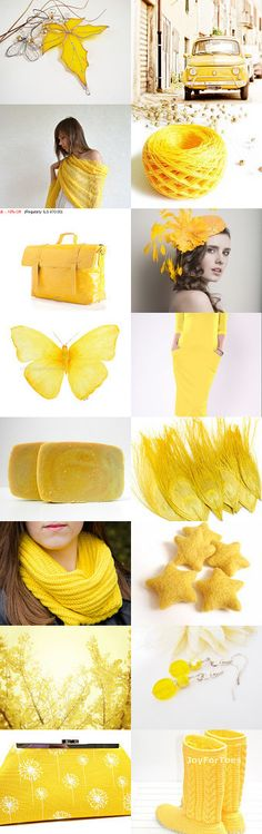 Fantastic yellow !!! by Gilberto Vavalà on Etsy--Pinned with TreasuryPin.com