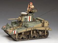 """M3 Stuart """"Honey"""" Desert Tank"""