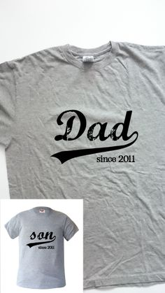 Nuevos modelos, pero poco tiempo. Pide la tuya !!! Father Daughter Shirts, Daddy And Son, Daddy Day, Fathers Day Presents, Gifts For Father, Good Daddy, T Shirt Painting, Dad Quotes, Daddy Gifts