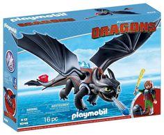 Fun - Sintfolder Fun 2017 - Playmobil Dragons 9246 Hikkie En Tandloos