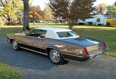 1968 Cadillac Eldorado - Mine but with a red lower half Vintage Cars, Antique Cars, Vintage Auto, Retro Cars, General Motors, Old Classic Cars, Classic Style, Counting Cars, Cadillac Eldorado