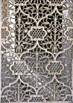 "ornaments-of-the-world: "" Marble carving at diwan-i-khas red fort "" Mughal Architecture, Art And Architecture, Architecture Details, Motif Oriental, Marble Carving, India Images, Motif Floral, Color Theory, Tool Design"