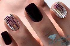 Модный маникюр осень-зима 2018-2019 Gorgeous Nails, Pretty Nails, Matte Nails, Manicures, All Fashion, Nail Colors, Nail Art Designs, Nailart, Body Art
