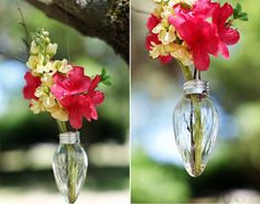 Картинки по запросу декор цветы в лампочке
