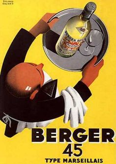 Roland Ansieau, Product Poster, France, 1935