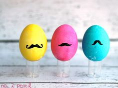 Mr. Mustache #easterdiy