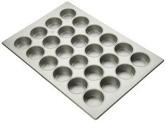 Focus Foodservice 905645 Large Muffin Pan 4 Rows of 6 Muffins 114 Vertical Depth 1778 x 2578 5 Oz Capacity per Cup -- You can get more details by clicking on the image.