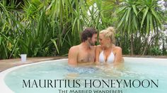 The Married Wanderers spend their Honeymoon in Mauritius. One week of island luxury couple travel at the Ambre Resort was the perfect way to start their. Mauritius Honeymoon, Luxury Couple, Travel Vlog, Africa Travel, Travel Couple, Continents, Gopro, Wander, Safari