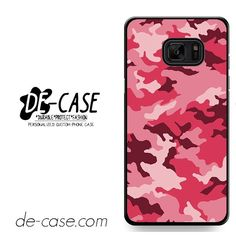 Pink Camouflage DEAL-8649 Samsung Phonecase Cover For Samsung Galaxy Note 7