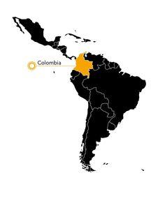 Paujil de Pico Azul map
