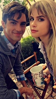 Tom Maden and Carlson Younf on Scream set.