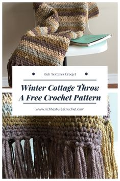 https://richtexturescrochet.com/2018/01/06/the-winter-cottage-throw-a-free-pattern/ A beautiful throw, made with a simple stitch and a super bulky weight yarn.