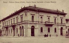 Palazzo Banca d'Italia, Piazza Garibaldi