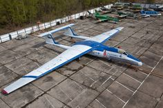 The Myasishchev M-55 (NATO reporting name: Mystic-B) is a high altitude geophysical research aircraft