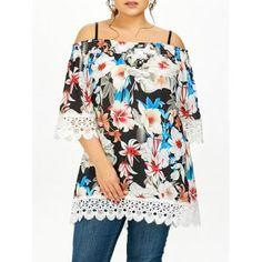GET $50 NOW | Join Dresslily: Get YOUR $50 NOW!http://m.dresslily.com/plus-size-floral-lace-insert-tunic-blouse-product2024742.html?seid=lM17nSpv2AtItt9h9pO6ltrvGO