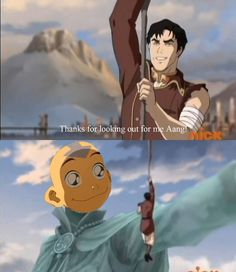 The Legend of Korra/ATLA: so wish this is how it happened lol