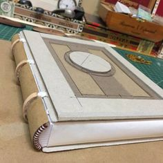 Next creation is on its way by BC Bookbinding. #books #bookbinding #bccreativity #bcbookbinding #textblock #journal #ledger #libro