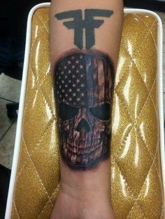 Thin blue line tattoo Gladiator Helmet, Line Tattoos, Thin Blue Lines, Police, Tattoo Ideas, Skull, Law Enforcement, Skulls, Sugar Skull