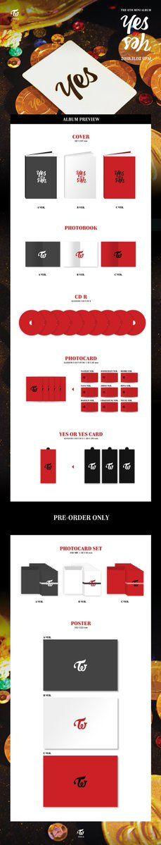 6 dos veces especial álbum twicecoaster Lane 2 Knock jeongyeon de tipo C Foto Tarjeta K-pop