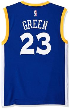 74a41bde5 NBA Men s Golden State Warriors Draymond Green Replica Player Stretch Jersey