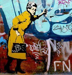 Street art/Graffiti, via Flickr.