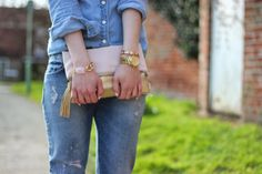 Denim Blush Pink Gold