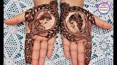 Latest Arabic Henna|Modern Bridal Mehndi Designs - दूल्हा दुल्हन मेहंदी ...
