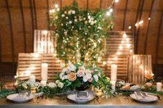 Bohemian Farm-to-Table Wedding Inspiration - Weddbook Bohemian Wedding Decorations, Reception Decorations, Table Decorations, Wedding Trends, Wedding Styles, Wedding Table, Rustic Wedding, Wedding Bouquets, Wedding Flowers
