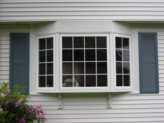 Bow window installed by Seaway Windows.