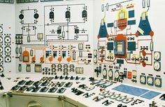 File:Nuclear Ship Savannah - Reactor Control Room - Center and Left Panels.jpg - Wikimedia Commons