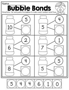 16 Number Worksheets for Kindergarten Number Bonds Worksheets The youngsters can enjoy Number Worksheets, Math Worksheets, Alphabet Worksheets. Number Bonds Worksheets, Number Worksheets Kindergarten, Preschool Math, Math Classroom, Teaching Math, In Kindergarten, Number Bonds Activities, Teaching Numbers, Alphabet Worksheets