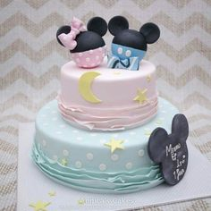Mickey & minnie by Annica's cakes