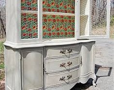 buffet hutch modern painted dark - Google Search