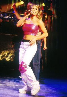 Stronger Than Yesterday! Britney Spears' 10 Most Powerful Lyrics - Britney Spears' Most Powerful Lyrics: 'Stronger,' 'Overprotected' - Britney Spears Costume, Britney Spears Outfits, Britney Spears 2000, Britney Spears Young, Britney Spears Concert, Early 2000s Fashion, 90s Fashion, Fashion Outfits, India Fashion