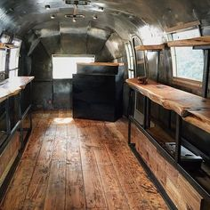 We cannot WAIT to see the finished @outlandprovision Airstream concept store by @bexargoods! The timber looks amazing...