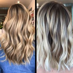 How-To: Honey Blonde Balayage and Frozen Hand-Painted Blonde