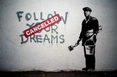 grafitti art  #banksy