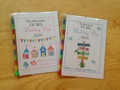 Childrens Kids Fun Wedding Day Activity Colouring by LoveInColours