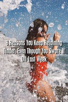 Relationultra 8 Reasons You Keep Rejoining Tinder, Even Though You Swore It Off Last Week #lovers #Problems  #poetry