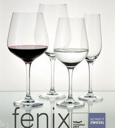 Copa FÉNIX ultrarresistente de diseño clásico. Capacidad máxima para la #restauración más exigente.  #Copa de #vino creada por Schott Zwiesel.  Disponible desde 3,36 €/unidad en http://www.tiendacrisol.com/tienda.php?Id=3248