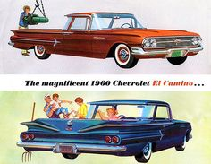 1960 Chevrolet El Camino - Promotional Advertising Poster