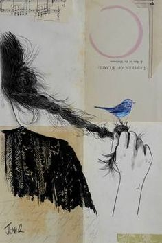 "Saatchi Art Artist Loui Jover; Drawing, ""letters of flame"" #art"