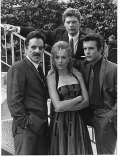 Crime Story | Left To Right: Dennis Farina, Darlanne Fluegel, Stephen Lang, and ...