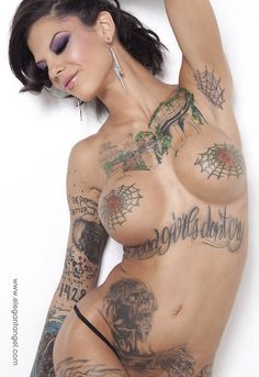 Pornstar bonnie rotten with enlarged sexy boobs appears