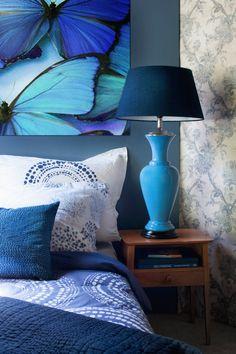 Cet été, on passe à l'heure du bleu ! - Si vous êtes à la recherche d'harmonie et de vibrations positives pour l'été, déclinez le bleu dans votre maison !