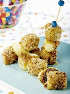 ActiFry Apples and Bananas with Coconut