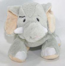 "Webkinz Velvety Elephant HM167 9.5"" Stuffed Plush Lovey Animal"