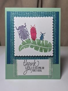 Bug Family by Margie Calenda - Cards and Paper Crafts at Splitcoaststampers