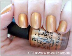 Colección de esmaltes de uñas Nordic de OPI